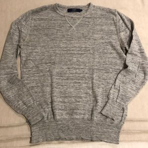 J. Crew grey sweatshirt